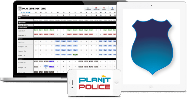 its time to use a modern scheduling solution designed for police departments